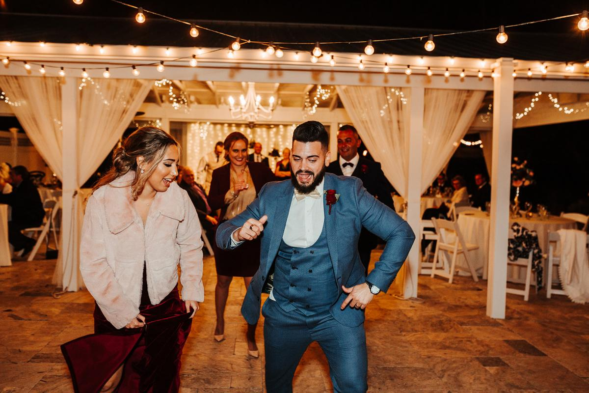 Carlos dancing the night away