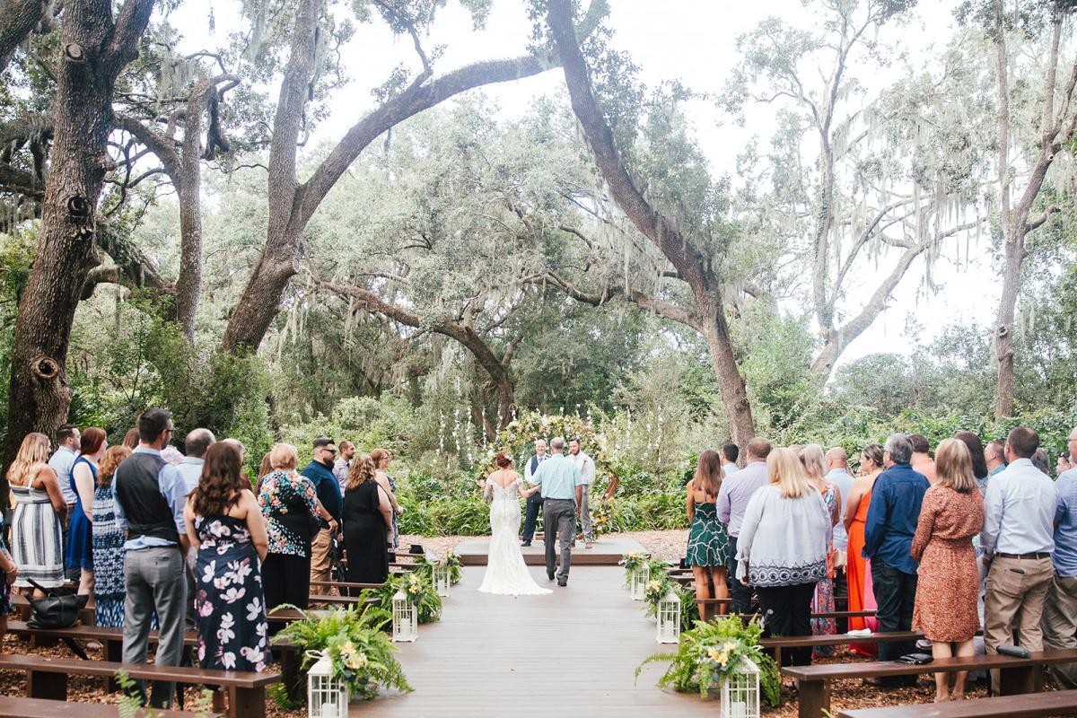 Amanda and Kyle's wedding ceremony