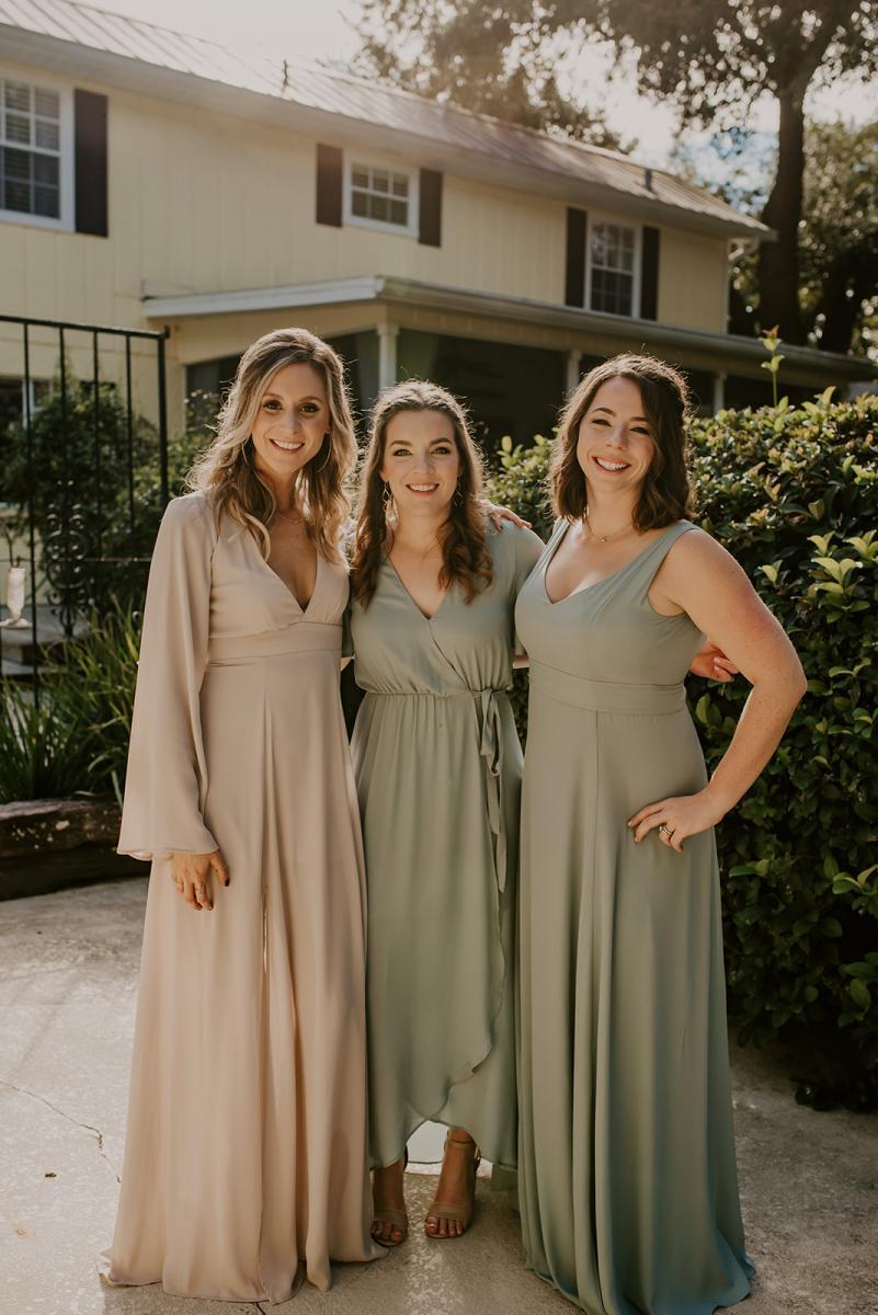 Kirstin's bridesmaids