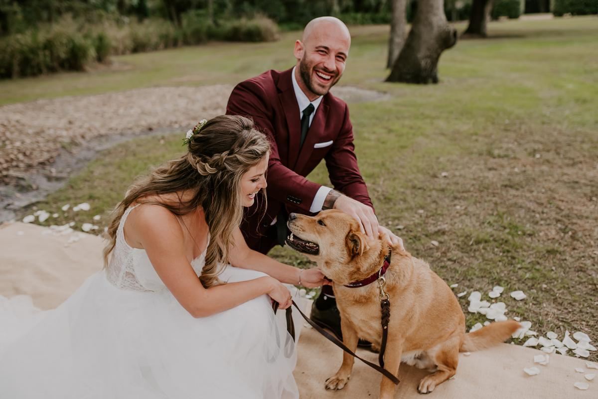 Kirstin and Julian's dog of honor