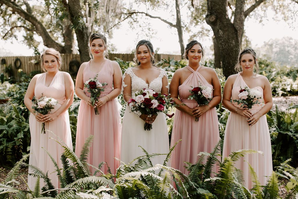 Bella and her bridesmaids