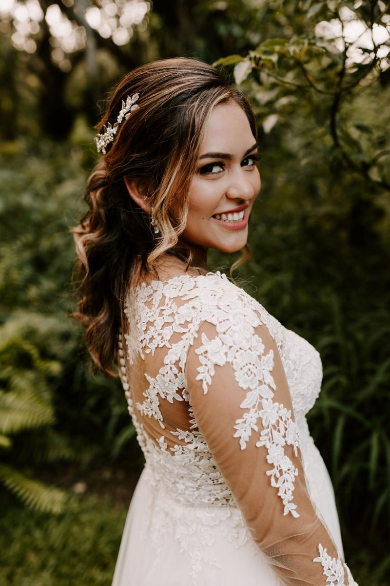 Bella as a beautiful bride
