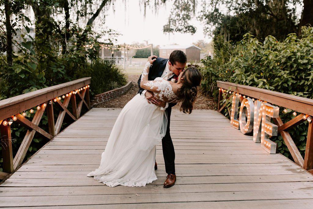Bella and Benjamin on the Love Bridge