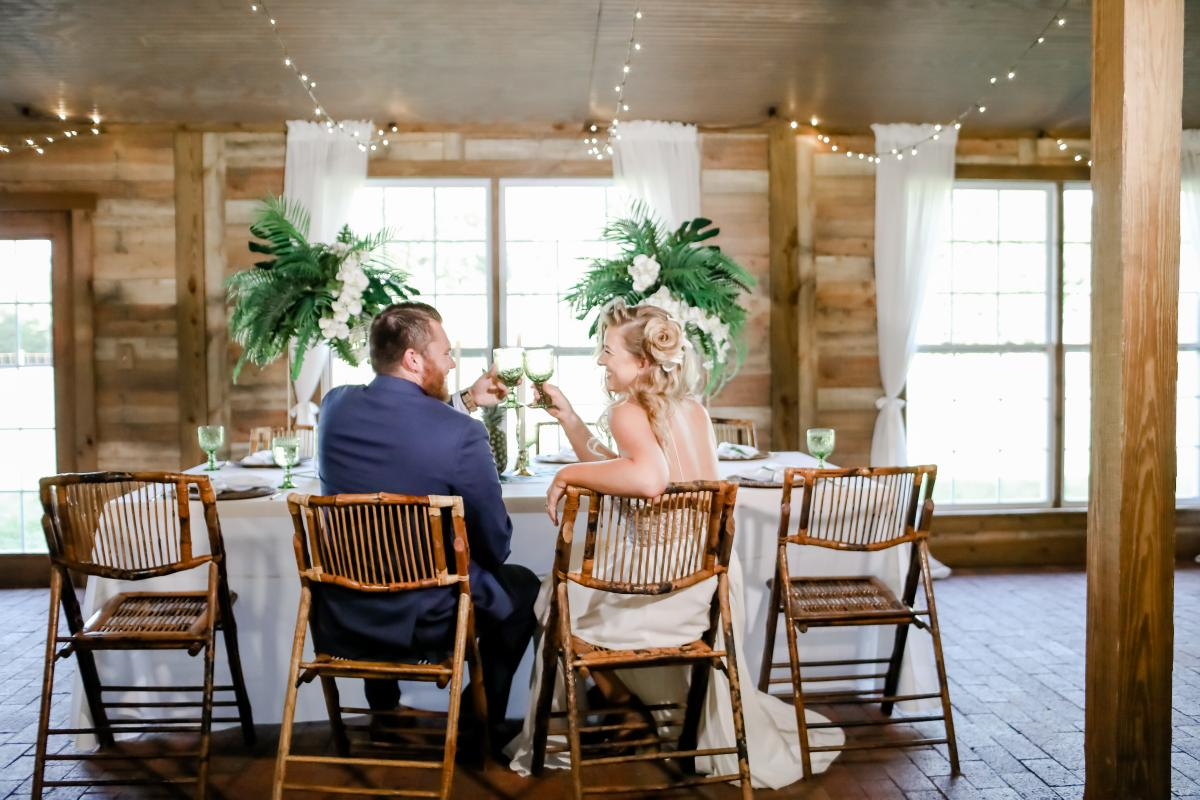 Cheers to this styled shoot