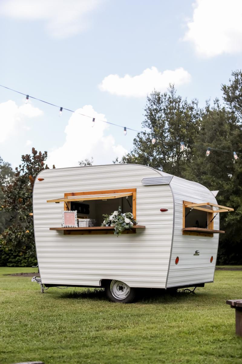 Wedding ice cream caravan, late night snack caravan