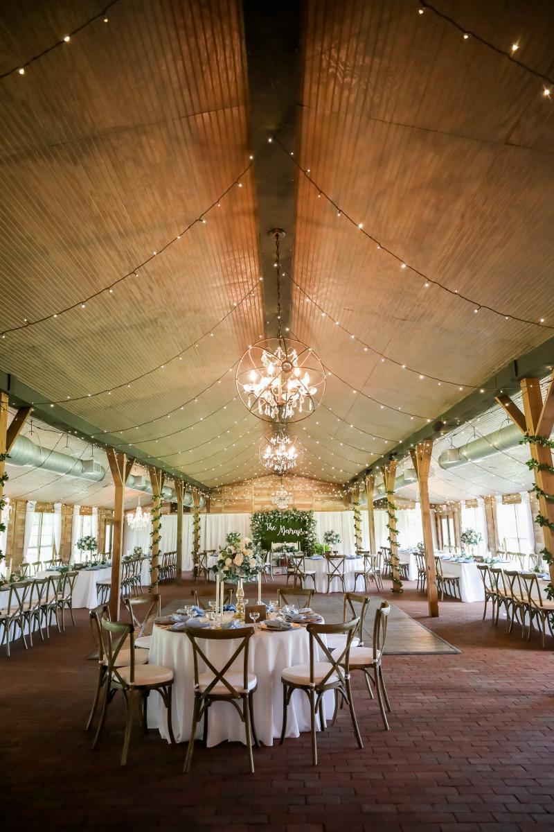 rustic elegant barn wedding venue