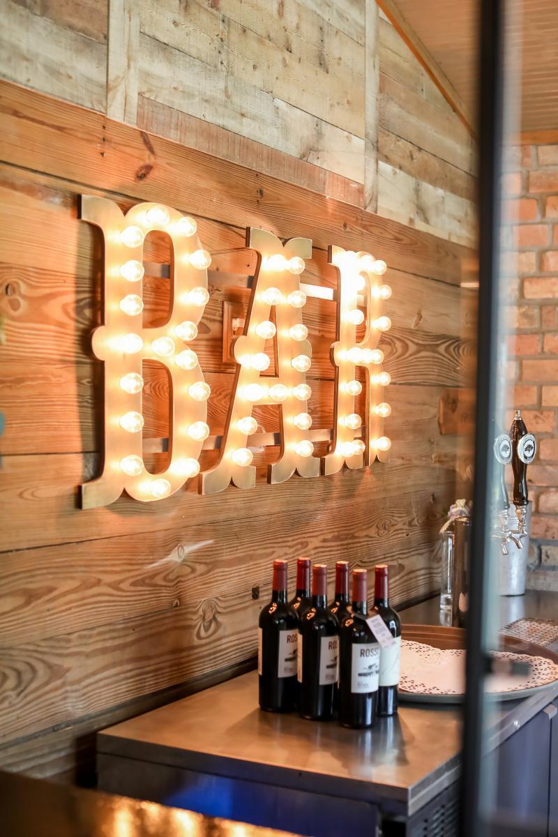 Antique wedding bar