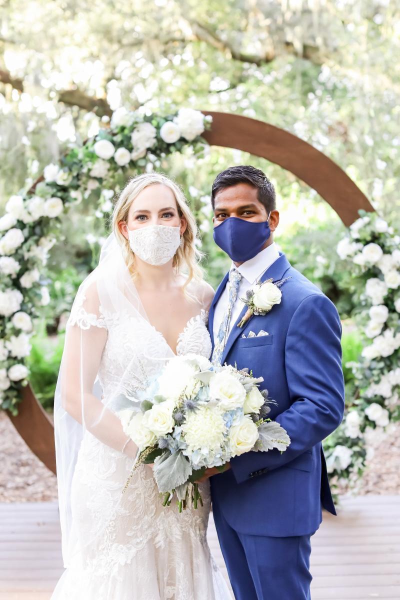 COVID wedding in Florida