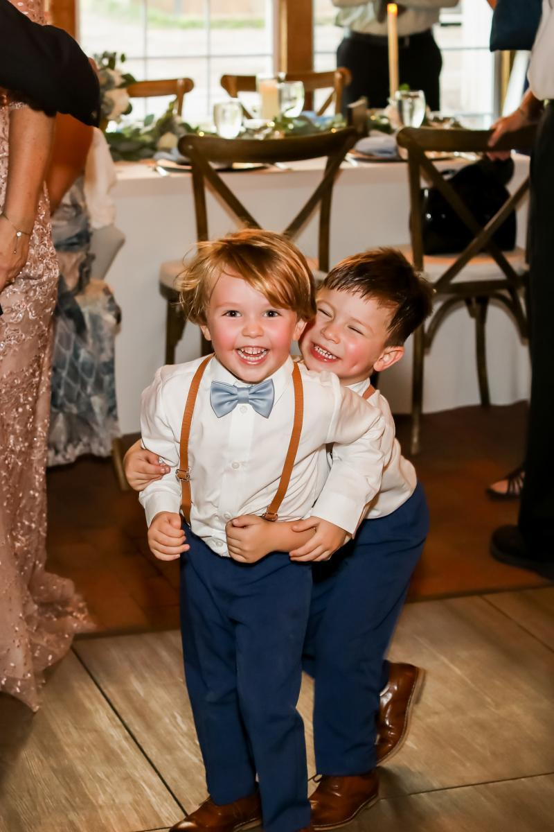 Adorable ring bearers