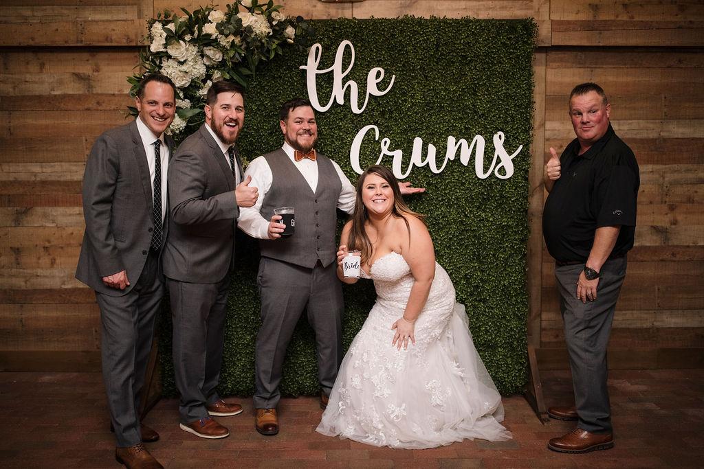 Wedding receptions at Cross Creek Ranch