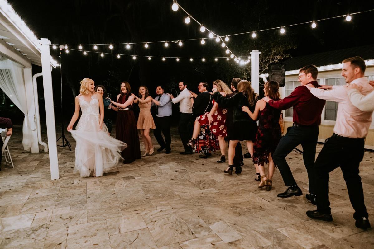 Wedding reception fun!