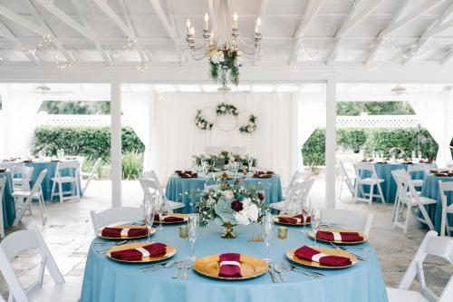 A wedding reception at the French Country Inn