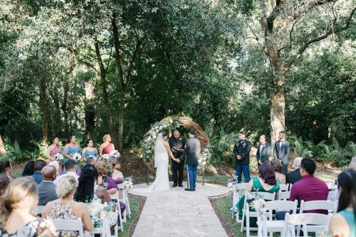 An intimate wedding ceremony at The French Country Inn